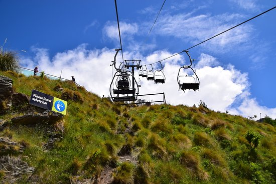 Skyline Queenstown Chairlift To Go Up For The Luge Ride