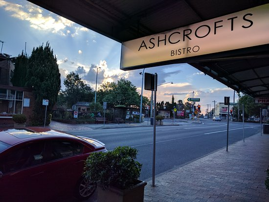 Blackheath, Australia: Sunset at Ashcrofts