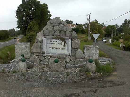 Monument à la Bataille d'Orthez, Orthez (Pyrénées-Atlantiques, Nouvelle-Aquitaine), France.