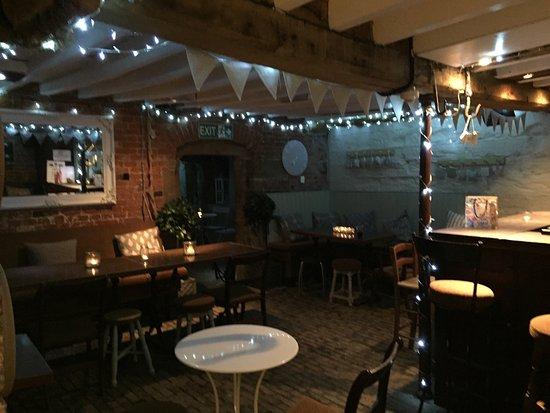 The Sir John Moore Foundation: The Cellar Bar