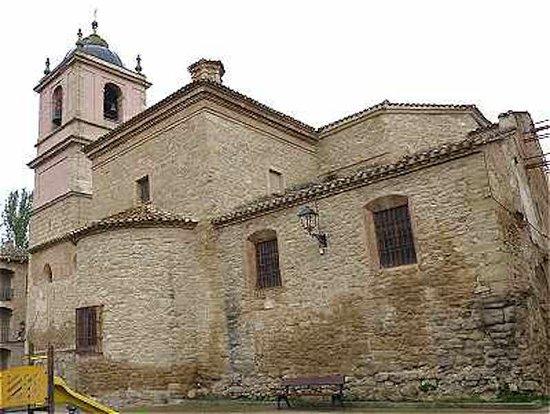 Iglesia de San Pedro apostol, Puente la Reina / Gares (Communauté forale de Navarre), Espagne.