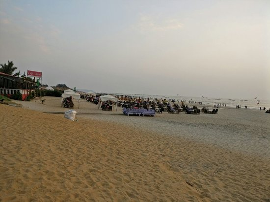 Baga, India: baag in the evening