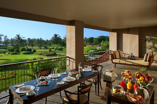 The Leela Goa View Of Golf Course From Club Suite