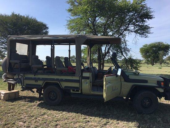 Sayari Camp, Asilia Africa: Game Drive Car