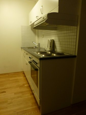 City Living Hotel & Apartments: Kitchenette (superior double room)