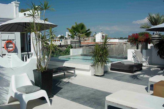 Hotel Casa Lola : Rooftop pool area, there are several here.