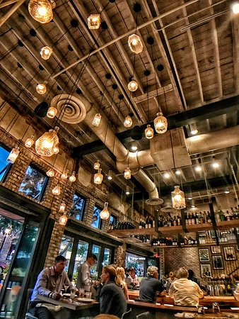 Beau Boca Kitchen Bar And Market: A Shot Of The Ceiling And A Bit Of The