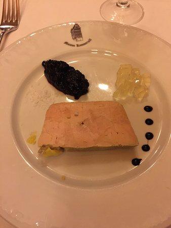 Very good foie gras, the rest inconsistent