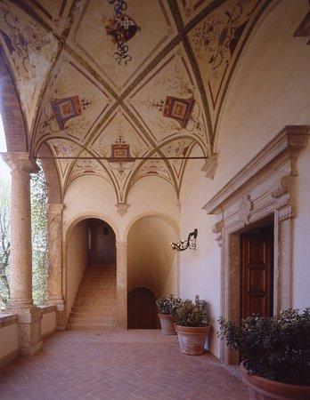 Pievescola, Italia: Museum Loggia