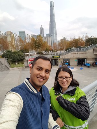 "China Cycle Tours: With my tour guide ""Rose"""
