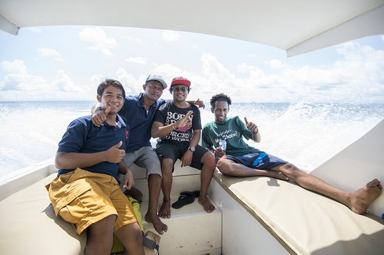 Mansuar Island, Indonesia: On the way there in the fast comfortable speedboat ©jeremysmithphotography.com
