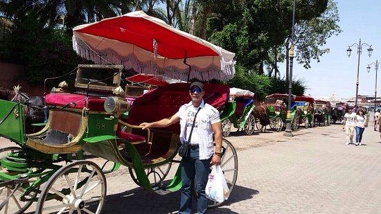 Hotel Atlas Asni : Jemaa el fna (saha)