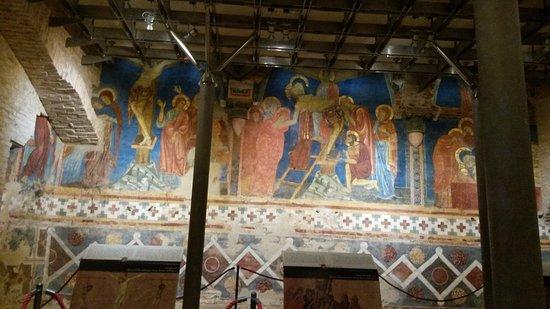 Cripta del Duomo de Siena, de Santa María de la Asunción