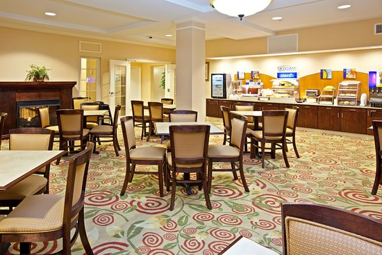 Holiday Inn Express Hotel & Suites Jasper: Breakfast Bar