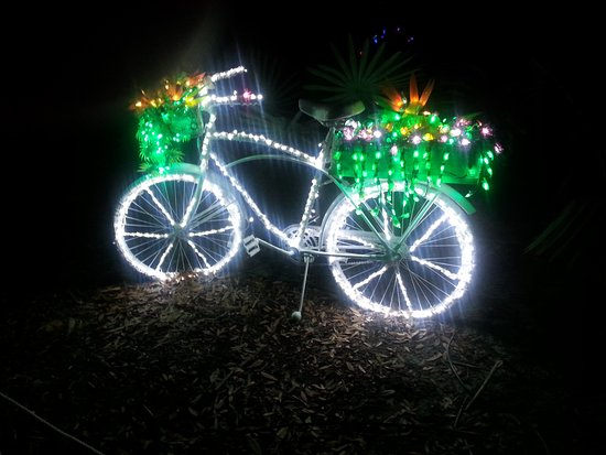 Fort Pierce, FL: bicycle with flowers