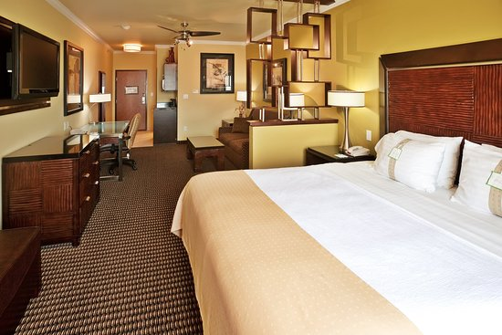 Holiday Inn Hotel & Suites McKinney - Fairview: King Executive Room is spacious and comfortable.