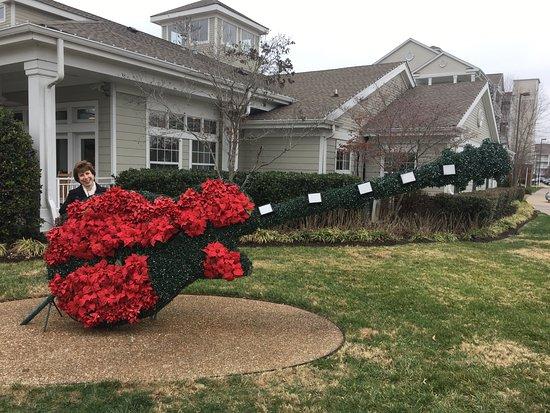 Wyndham Nashville: Christmas Decorations at Wyndham