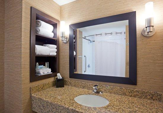 هوليداي إن اكسبرس هوتل آند سويتس: Guest Bathroom