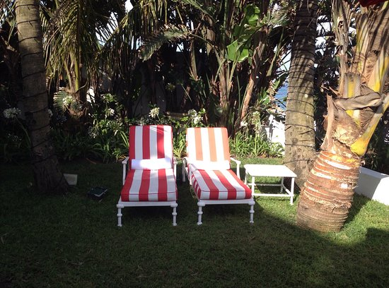 Waiting for you by the swimming pool at The Oyster Box, Umhlanga Rocks