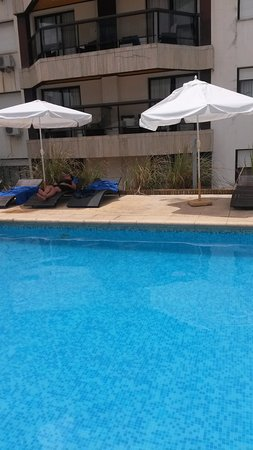Golden Beach Resort and Spa: Pileta exterior