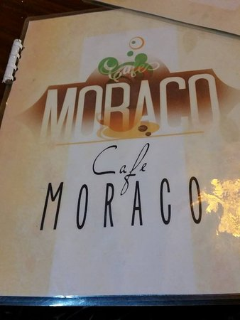 Kawit, Philippines: Cafe Moraco's menu