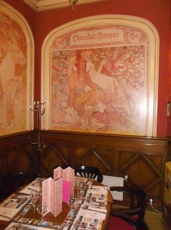 Le Passe Temps: Art Nouveau Interior