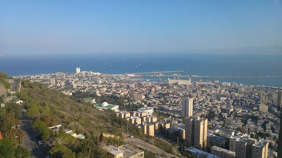 Dan Panorama Haifa: The view from th 11th floor