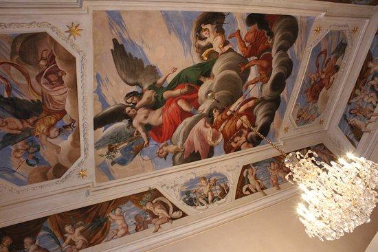 Zámek Troja: Роспись потолков