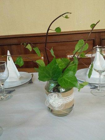 Cendro de mesa casero