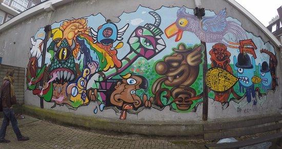 frank tours rotterdam more street art ft frank