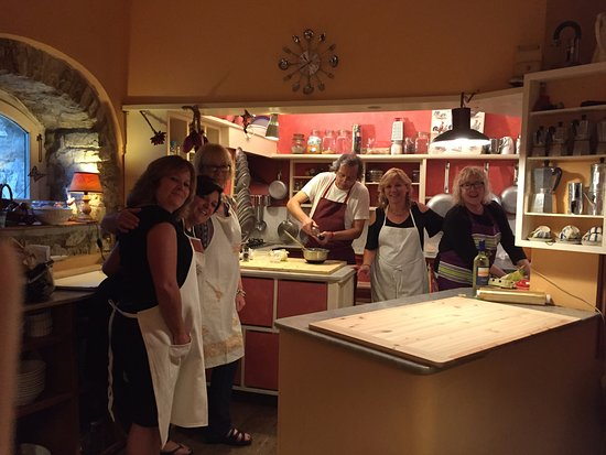 Casa Palmira: cooking class with Stefano