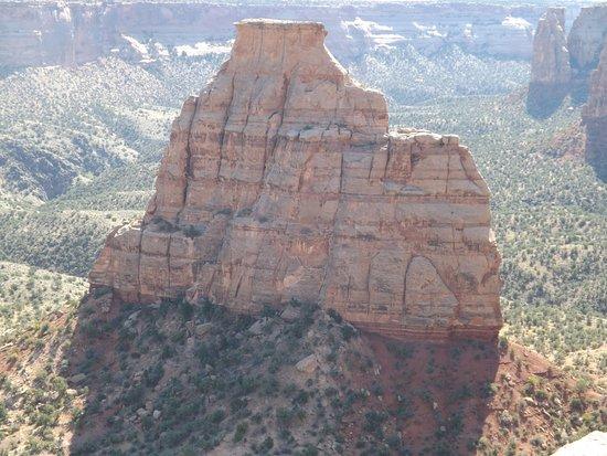 Fruita, CO: Rock formation in Colorado NM