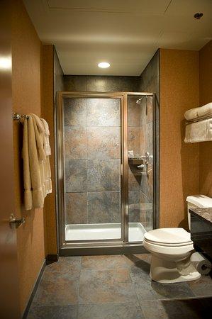Cork Factory Hotel: Bathroom