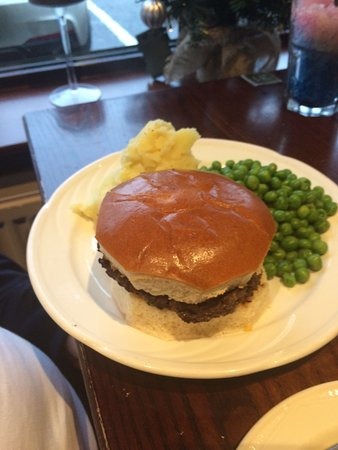 Newmachar, UK: Kids Burger