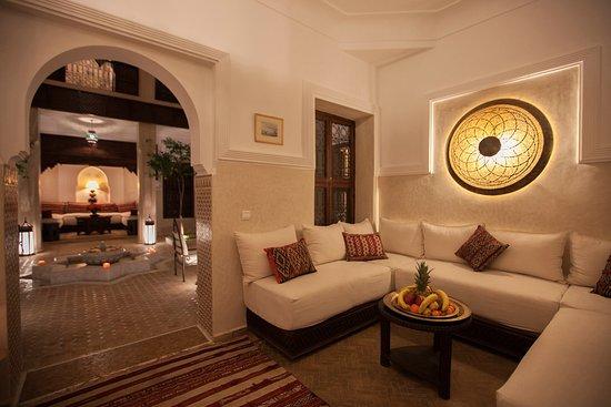 Riad le Clos des Arts: Moroccan salon