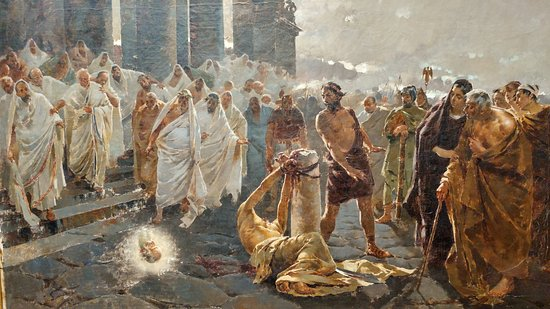 Rome Chrétienne et ses monuments - EUGENE DE LA GOURNERIE - 1867 Boceto-de-la-decapitacion