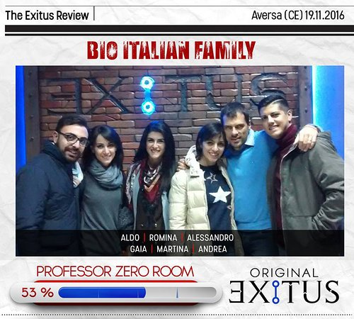 Escape Room Exitus - Aversa