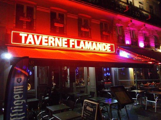 La Taverne flamande: Front of restaurant