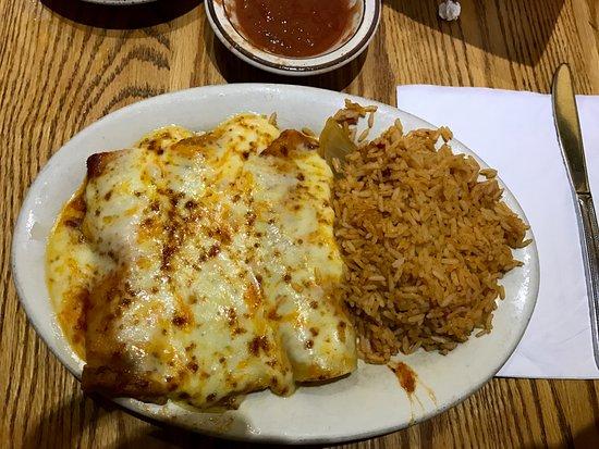 Mexican Fiesta II: Chicken enchilada