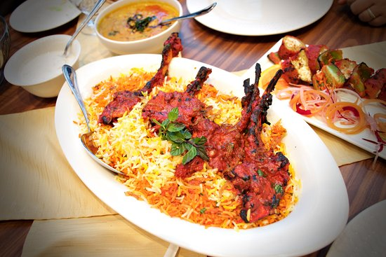 royal tandoor this is one type of biriyani they serve it s a star