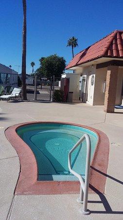 Casa Grande, AZ: Casita Verde Hot Tub