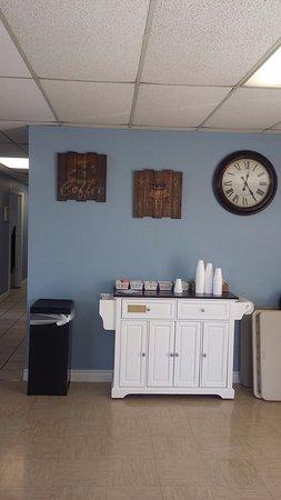 Casa Grande, AZ: Coffee Area
