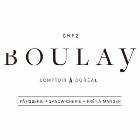 Chez Boulay-comptoir boréal: logo