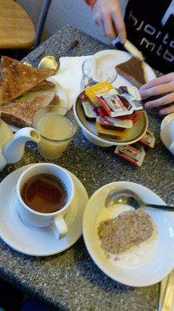 Swinton Hotel: Morgenmad.