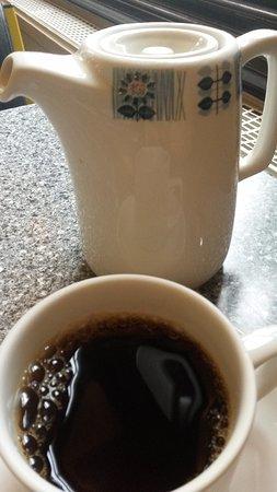 Swinton Hotel: Stærk te, meget stærk.
