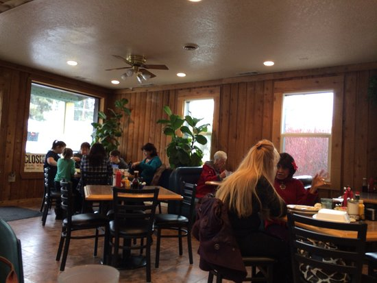 Portola, Californien: Sharon's Cafe