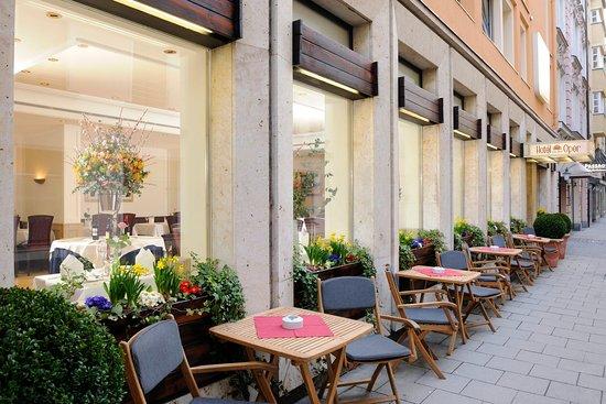 Terrace_TOP Hotel An Der Oper Munich