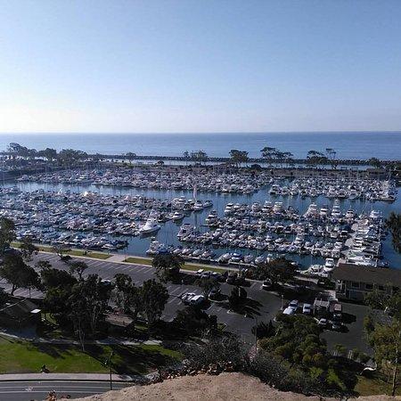 Dana Point, Californien: Утро в Дана-Пойнт