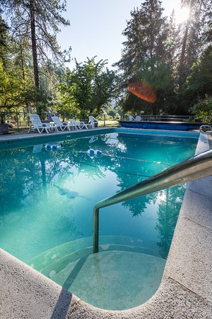 Morrisons Rogue River Lodge: Pool at Morrisons Lodge