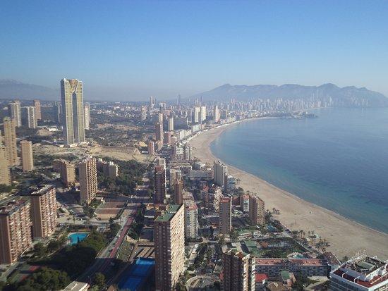 Vista Desde La Terraza Toda La Playa De Poniente Picture